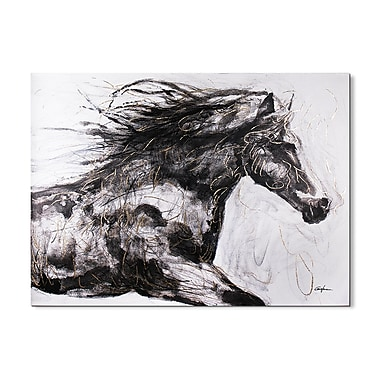 Magari Horse II' Painting on Wrapped Canvas