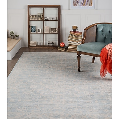 Ambiance AMB1306 Lt Blue Traditional Area Rugs