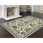 Bristol BRS1105 Green Traditional Area Rugs