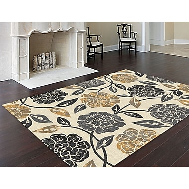 Bristol BRS1309 Gray Transitional Area Rugs