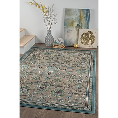 Cambridge CBR1009 Gray Traditional Area Rugs