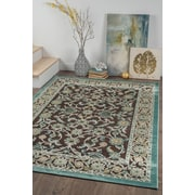 Cambridge CBR1208 Brown Traditional Area Rugs