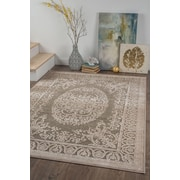 Cambridge CBR1516 Taupe Traditional Area Rugs