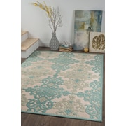 Cambridge CBR1714 Aqua Transitional Area Rugs