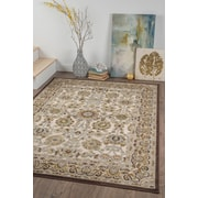 Cambridge CBR2017 Cream Transitional Area Rugs