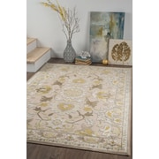 Cambridge CBR2317 Cream Traditional Area Rugs