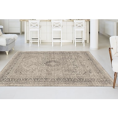 Concept CNC1002 Cream Transitional Area Rugs