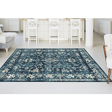 Concept CNC1006 Blue Transitional Area Rugs