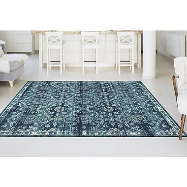 Concept CNC1009 Blue Transitional Area Rugs