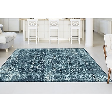 Concept CNC1014 Blue Transitional Area Rugs