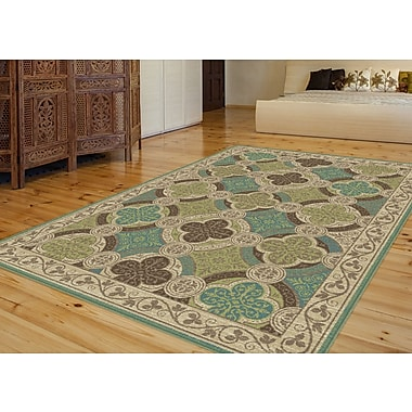 Capri CPR1006 Beige Transitional Area Rugs