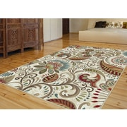 Capri CPR1011 Ivory Transitional Area Rugs