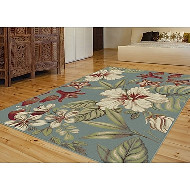 Capri CPR1012 Blue Transitional Area Rugs