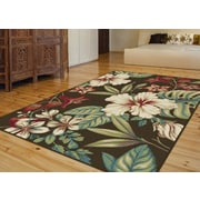 Capri CPR1013 Brown Transitional Area Rugs