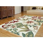 Capri CPR1014 Ivory Transitional Area Rugs