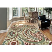 Deco DCO1001 Ivory Transitional Area Rugs