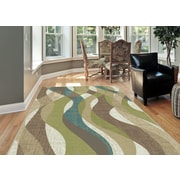 Deco DCO1012 Ivory Transitional Area Rugs