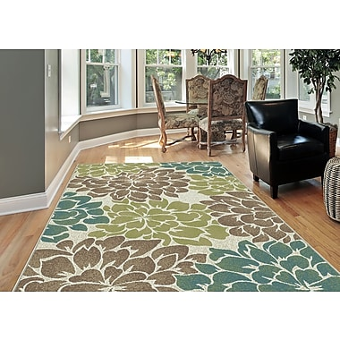 Deco DCO1020 Ivory Transitional Area Rugs