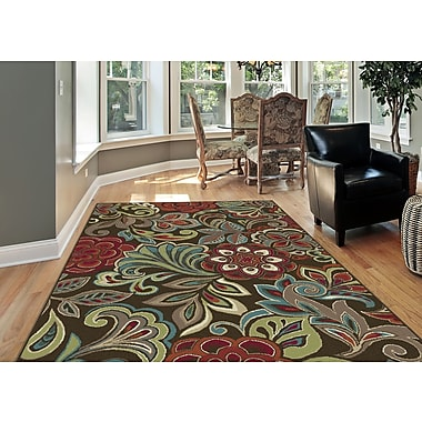 Deco DCO1024 Brown 7 ft. 10 in. x 10 ft. 3 in. Transitional Area Rug