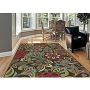 Deco DCO1024 Brown Transitional Area Rugs