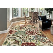 Deco DCO1025 Ivory Transitional Area Rugs