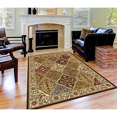 Elegance 5120 Multi 7 ft. 6 in. x 9 ft. 10 in. Traditional Area Rug