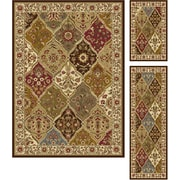 Elegance 5120 Multi Traditional Area Rugs, 3-Piece Set