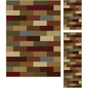 Elegance 5180 Multi Contemporary Area Rugs, 3-Piece Set