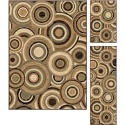 Elegance 5382 Multi 3 Piece Rugs Set Contemporary Area Rugs