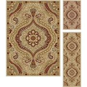 Elegance 5462 Ivory 3 Piece Rugs Set Transitional