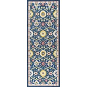 Expressions EXP1307 Navy Transitional Area Rugs