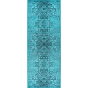Expressions EXP1715 Teal Transitional Area Rugs