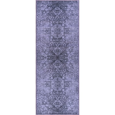 Expressions EXP1725 Purple Transitional Area Rugs