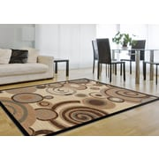 Festival 8832 Beige 5 ft. 3 in. x 7 ft. 3 in. Contemporary Area Rug