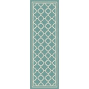 Garden City GCT1009 Aqua Transitional Runner