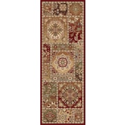 Impressions 7720 Red Transitional Runner