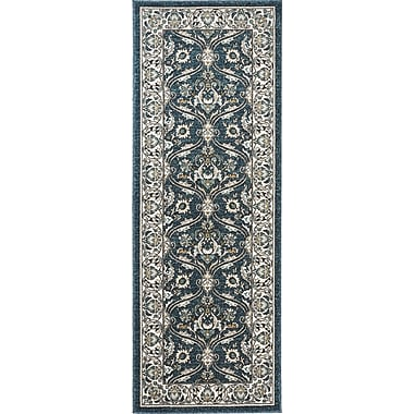 Kensington KNS1007 Navy Traditional Area Rugs