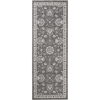Kensington KNS1109 Gray Traditional Area Rugs