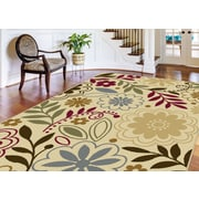 Laguna 4542 Beige 5 ft. x 7 ft. Contemporary Area Rug