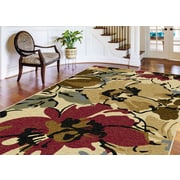 Laguna 4570 Beige 5 ft. x 7 ft. Contemporary Area Rug