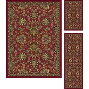 Laguna 4590 Red 3 Pc. Set Transitional Area Rugs