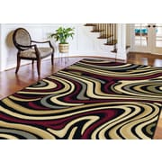 Laguna 4608 Charcoal 5 ft. x 7 ft. Contemporary Area Rug