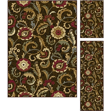 Laguna 5058 Brown Transitional Area Rugs