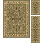 Laguna 5075 Green Traditional Area Rugs