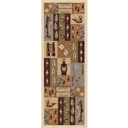 Nature 6522 Beige Lodge Runner