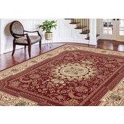 Sensation 4670 Red Traditional Area Rugs