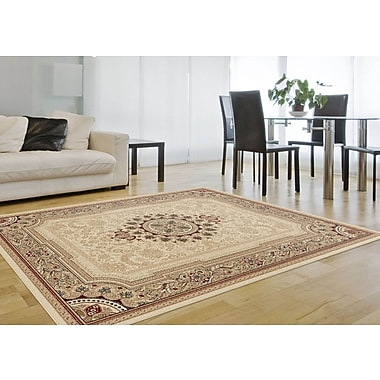 Sensation 4672 Beige Traditional Area Rugs