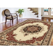 Sensation 4702 Beige Traditional Area Rugs