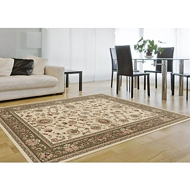 Sensation 4722 Beige Traditional Area Rugs