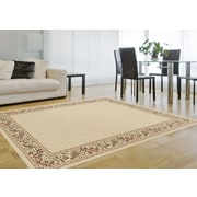 Sensation 4742 Beige Transitional Area Rugs